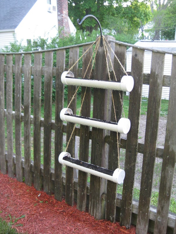 The Movable Hanging Herb Garden