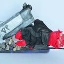 Deadpool Hand and Wireless Pistol Hot Glue Gun
