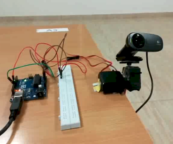 Real Time Face Tracking Robot With Arduino and Matlab