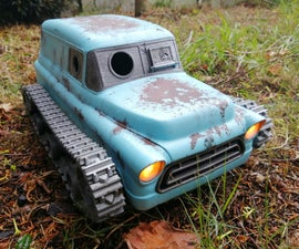 3D Printed RC Tank Car, Apocalypse Style!
