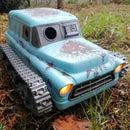 3D Printed RC Tank Car, Apocalypse Style!
