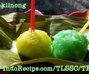 Cassava Balls-Dumplings (Mendut Singkong)