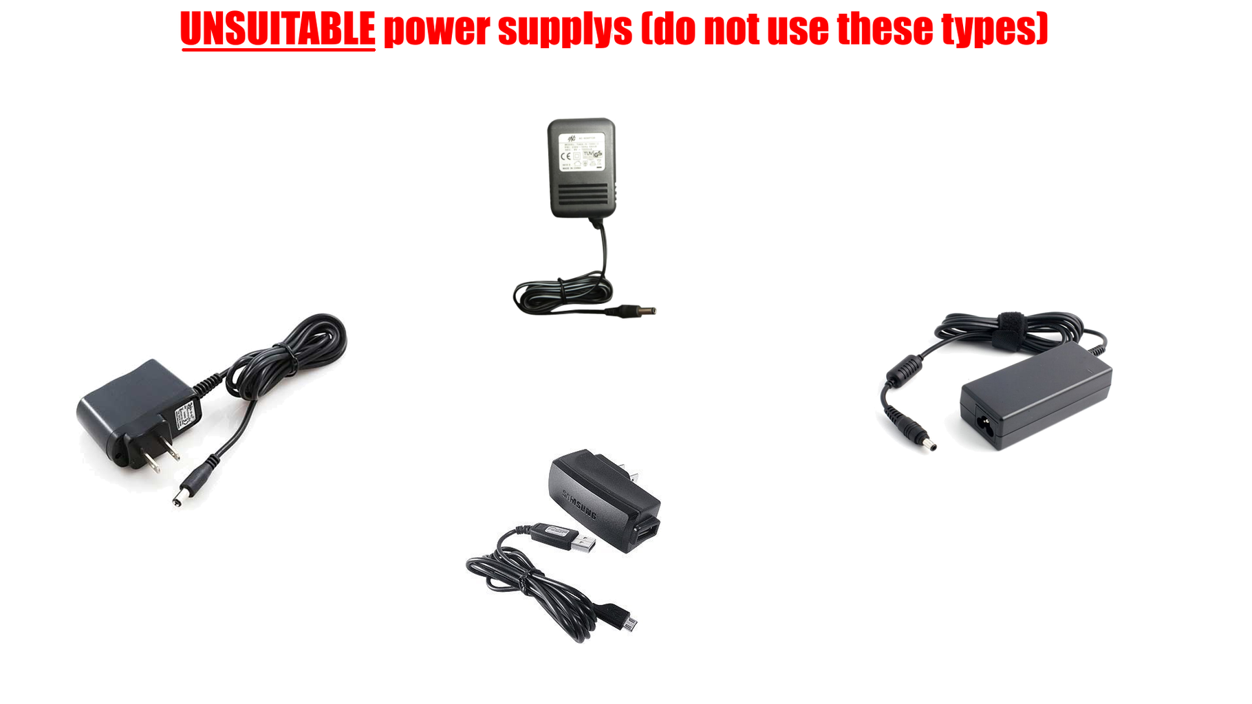 Choosing a Suitable Power Supply