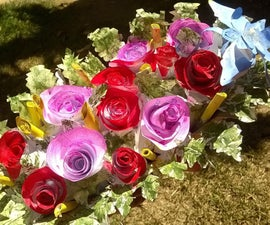 A Flower  Bed - by Upcycled Papers