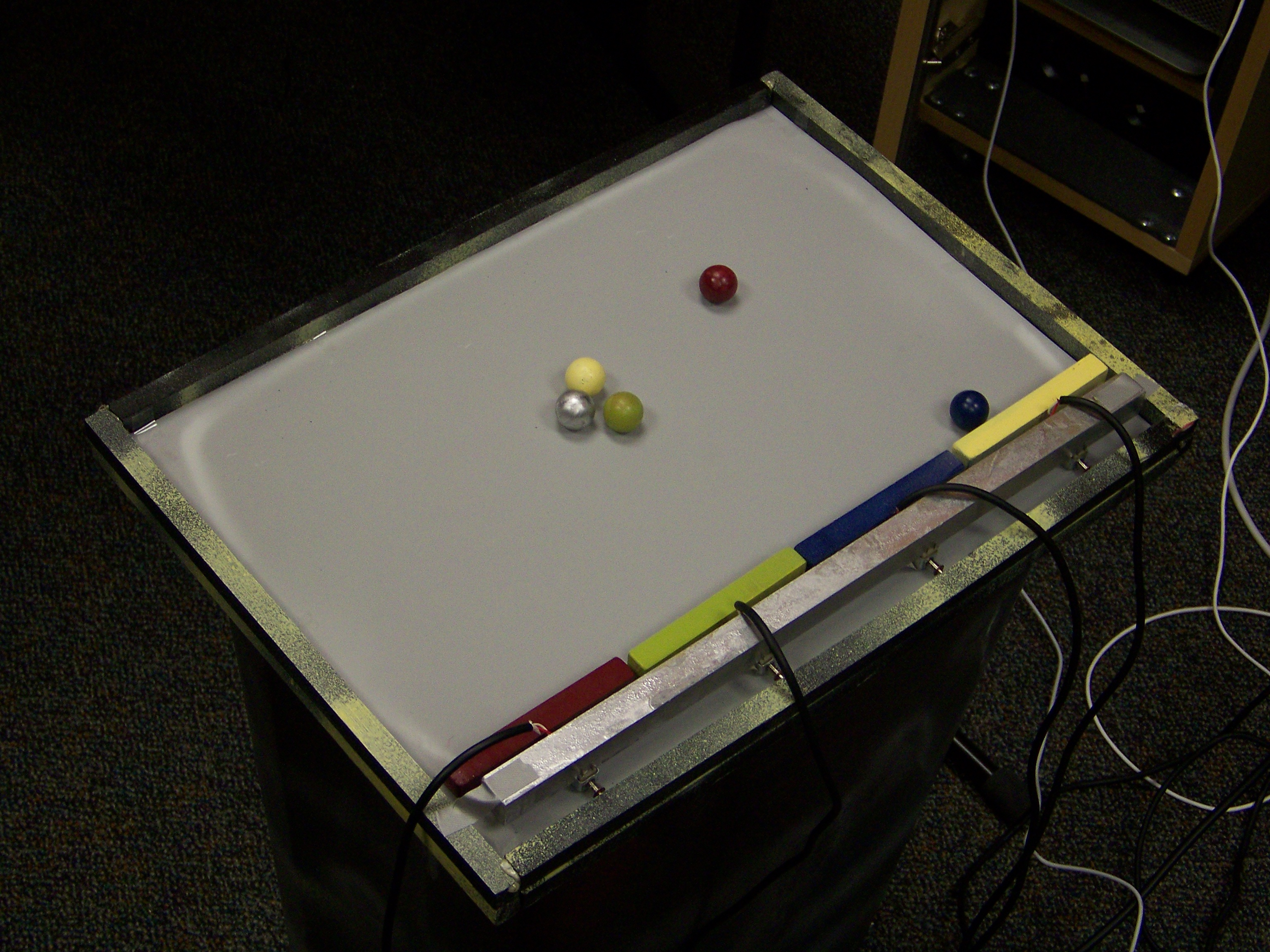 Multitouch Pinball Instrument