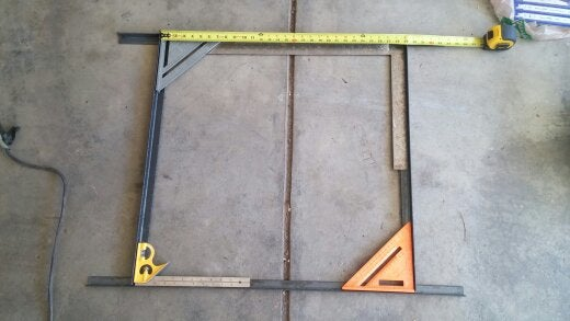 Make a Square With the Angle Iron