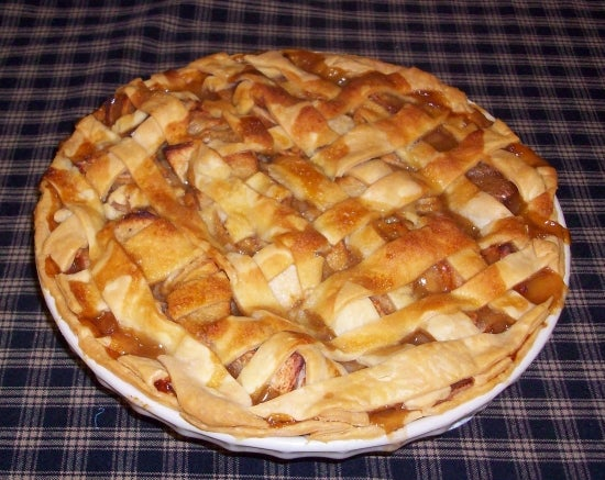 DON'S CARAMEL APPLE PIE