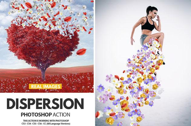 Dispersion Effect: Photoshop Tutorial