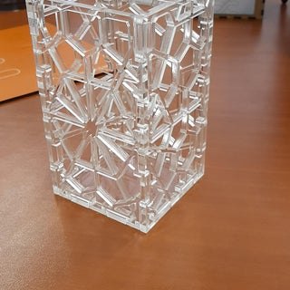 Laser Cut Geometric Pencil Holder