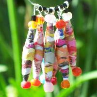 Wavy Cut Paper Beads