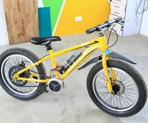 DIY Electric Bicycle Conversion (Using a Brushless Motor)