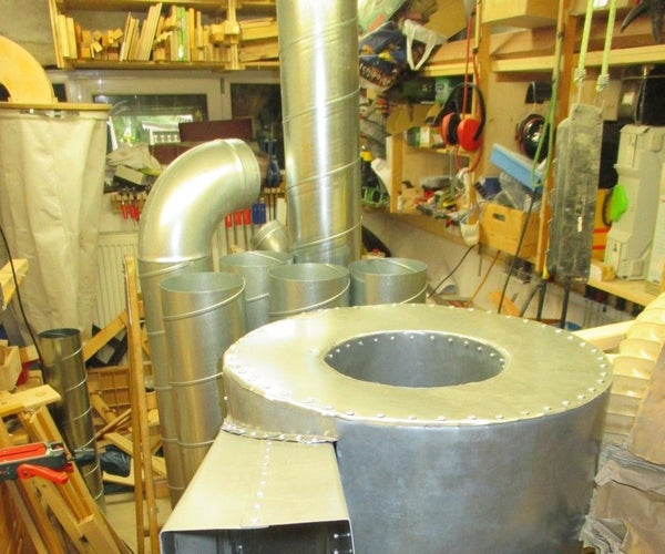 """Budget DIY 18"""" Cyclone Dust Separator/Dust Collector"""