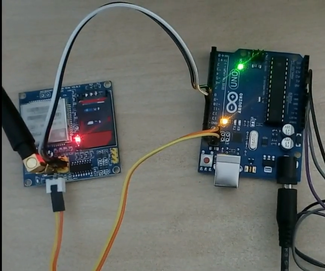 RAIN DROP DETECTOR WITH EMAILING USING ARDUINO UNO