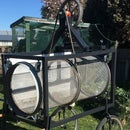 Building a Soil Sifter / Rotary Trommel