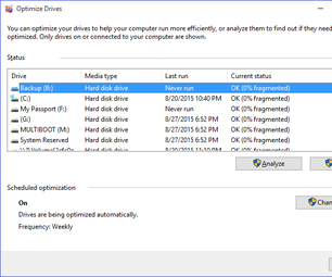 How to Defragment Your Hard Drive
