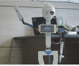 MIA-1 Open Source Advanced Hand Made Humanoid Robot!
