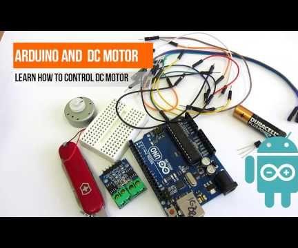 DC motors and arduino - ways of controling
