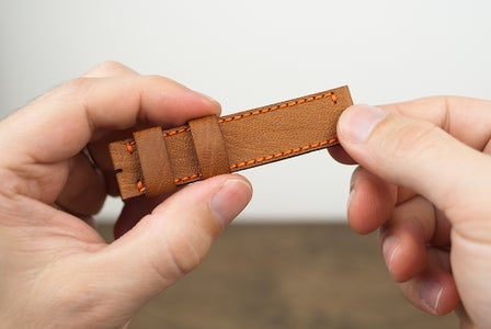 Assembling the Top Strap