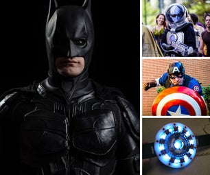 Comic Hero and Villain Costumes