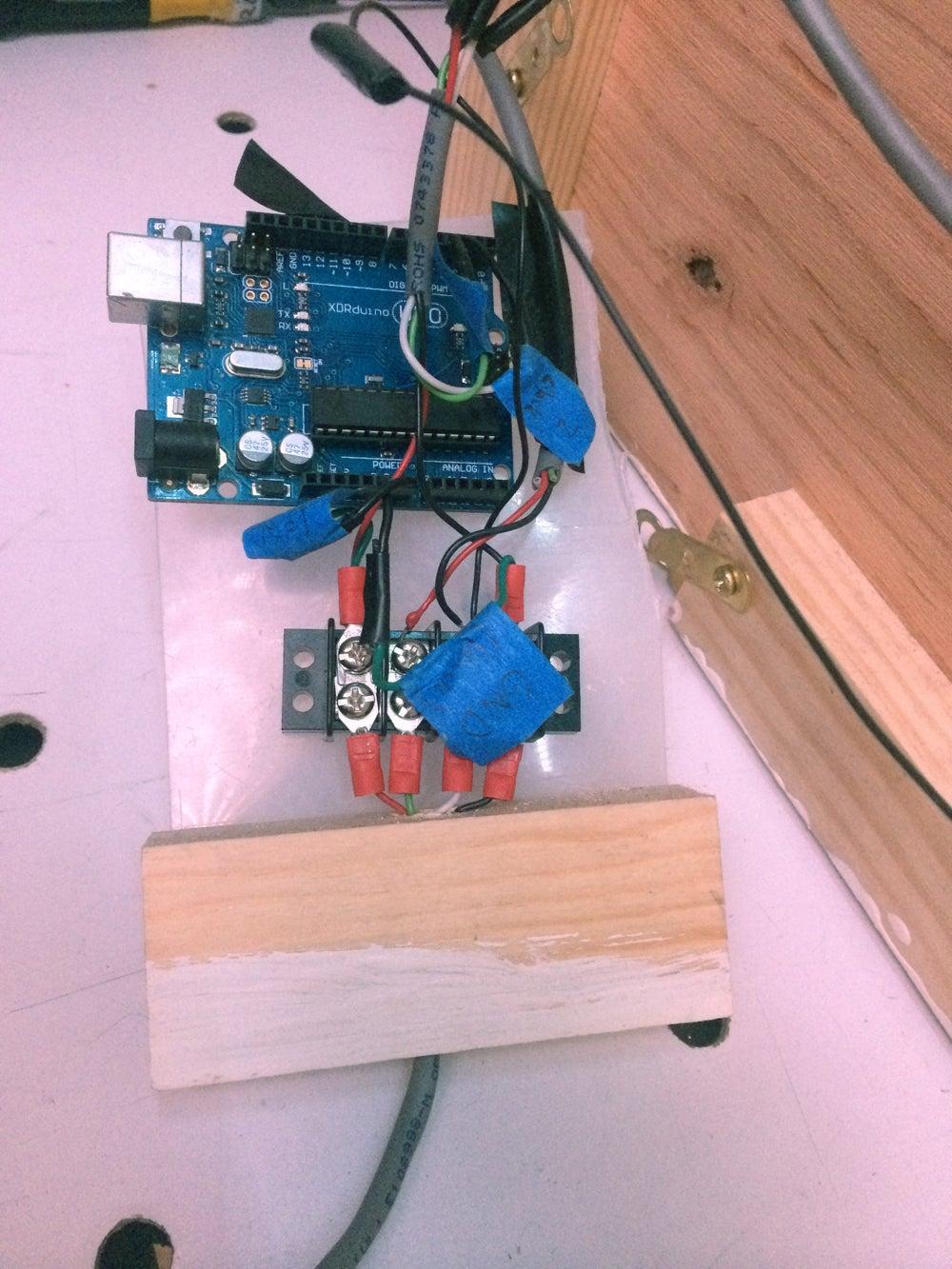 Adding the Arduino