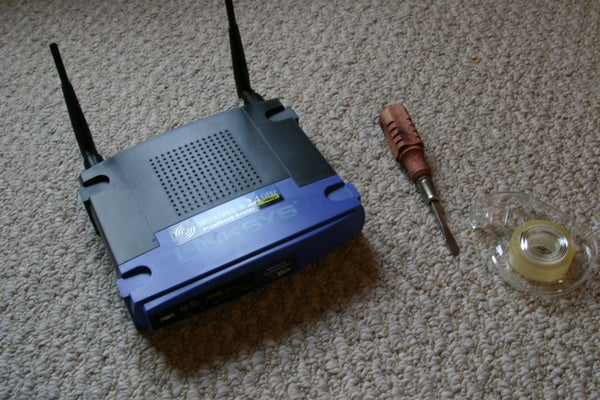 How To: Safe/Hiding Place From an Old Router