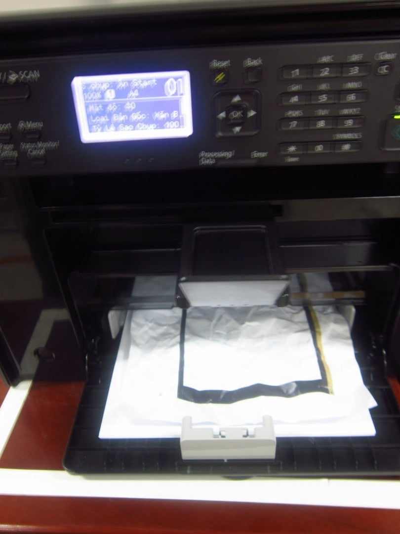 Put Into Printer