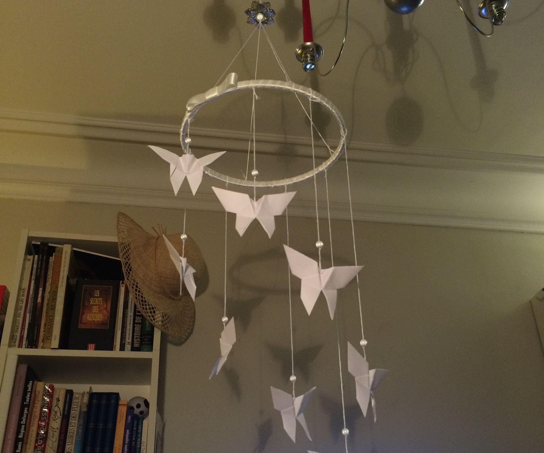 Origami Crib Mobile