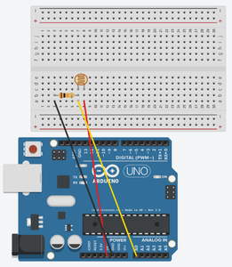 Simple Arduino Photocell Circuit and Data Logging