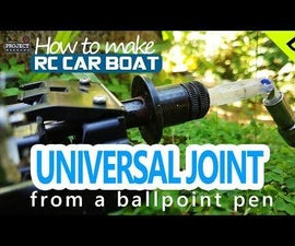 DIY Universal Joint for RC Car, Boat