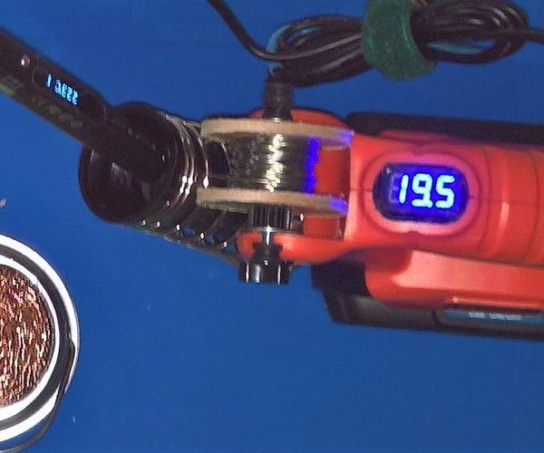 TS100 Portable Soldering Station From Black&Decker 20V Work Light