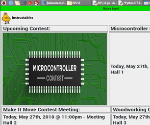 Digital Notice Board Using Raspberry Pi and MQTT Protocol