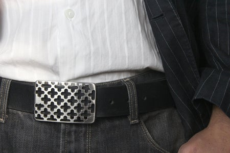 Make a Belt Buckle Out of Steel