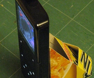 Corn Flakes Packet Iphone/ Multimedia Device Stand