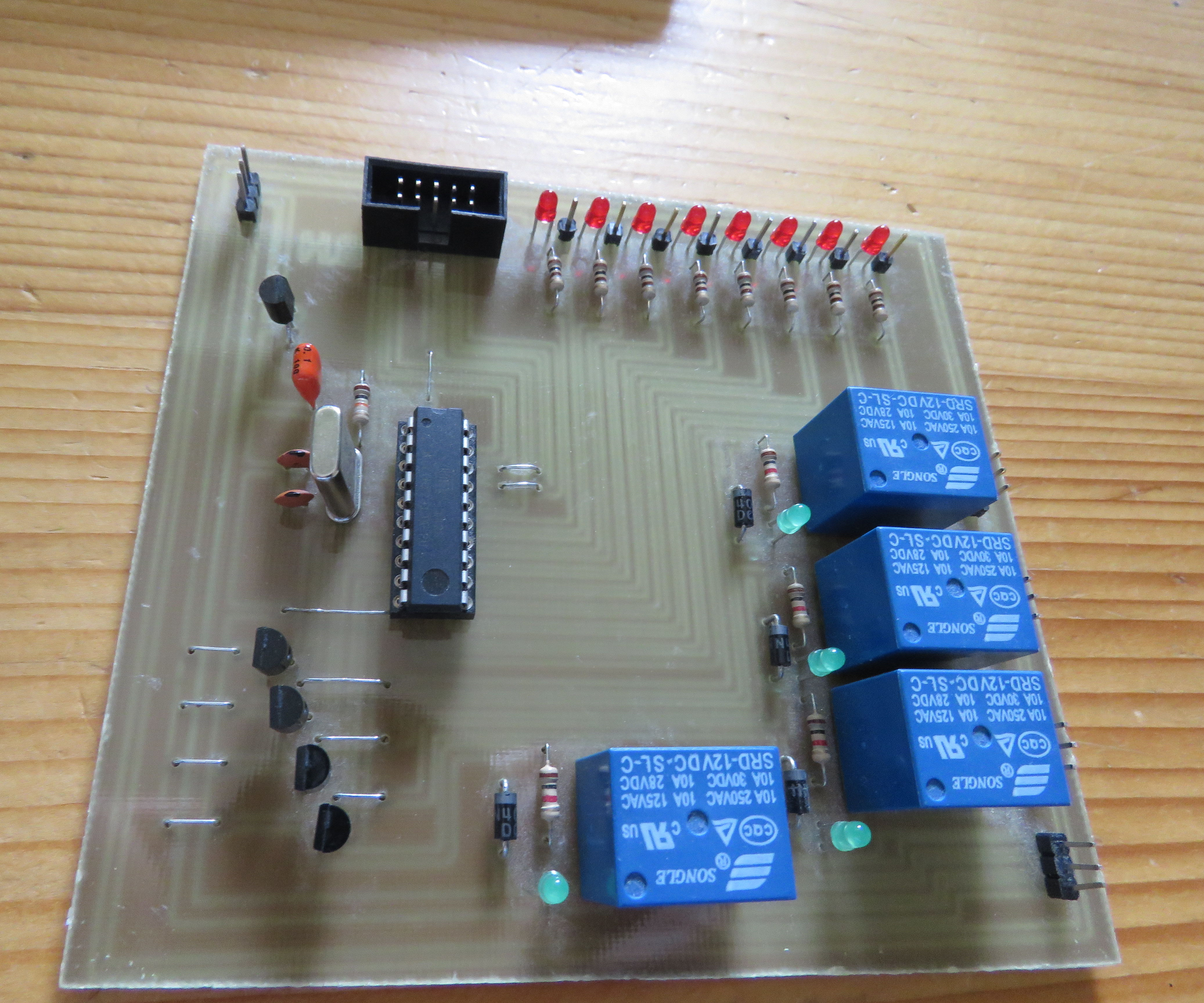 Make your own development board with microcontroller