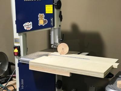 Build a Bandsaw Circle Cutting Jig