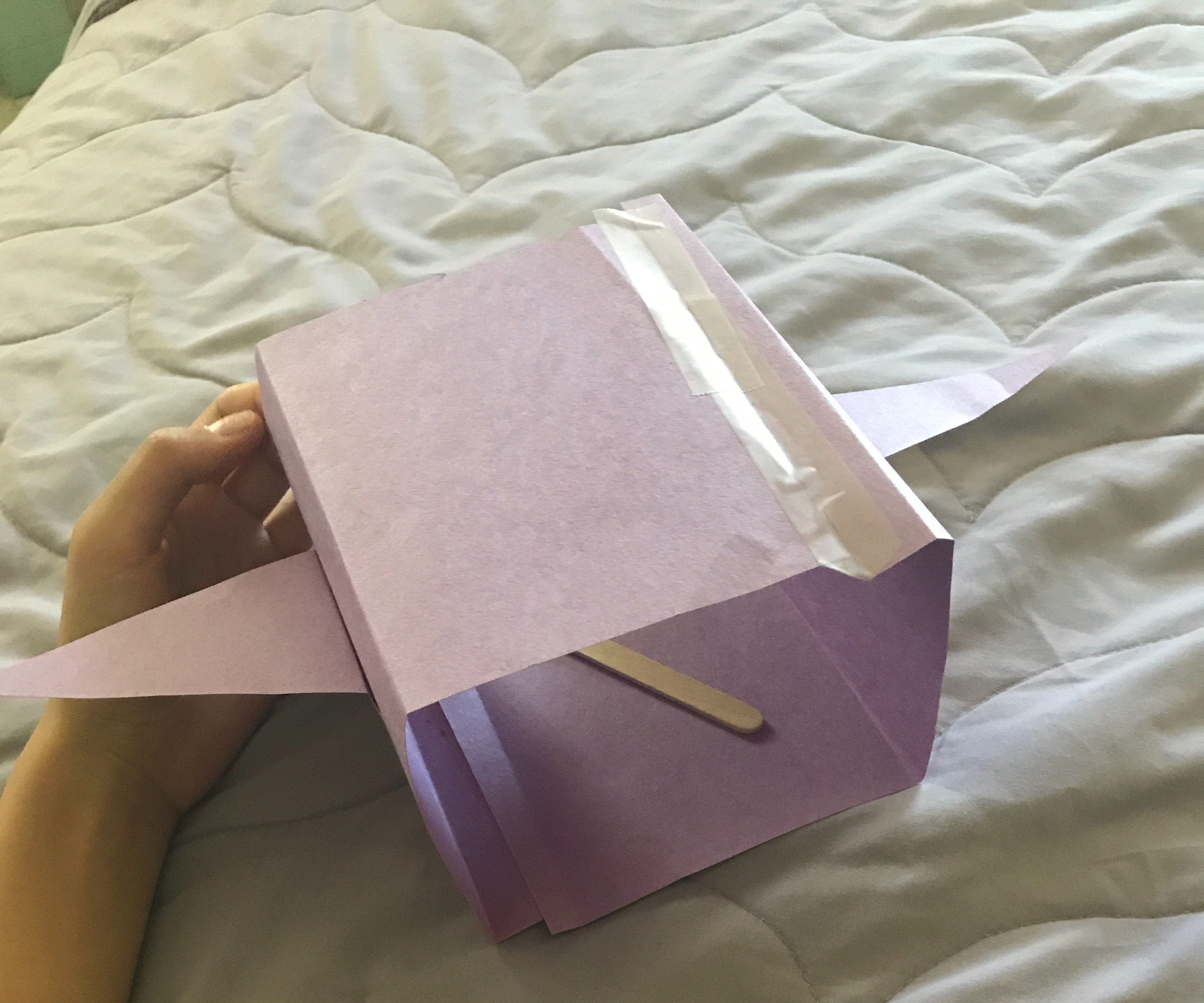 Flying Paper Cube!