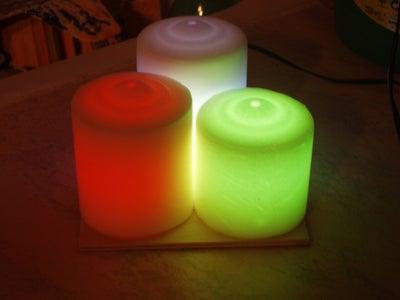 Led Candles Moodlight