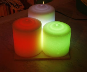 Led Candles Moodlight