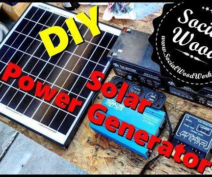 DIY Solar Power Generator