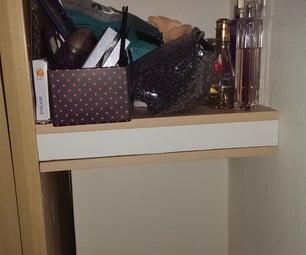 Simple Hiding Place in a Shelf