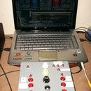 DIY Virtual DJ midi usb controller