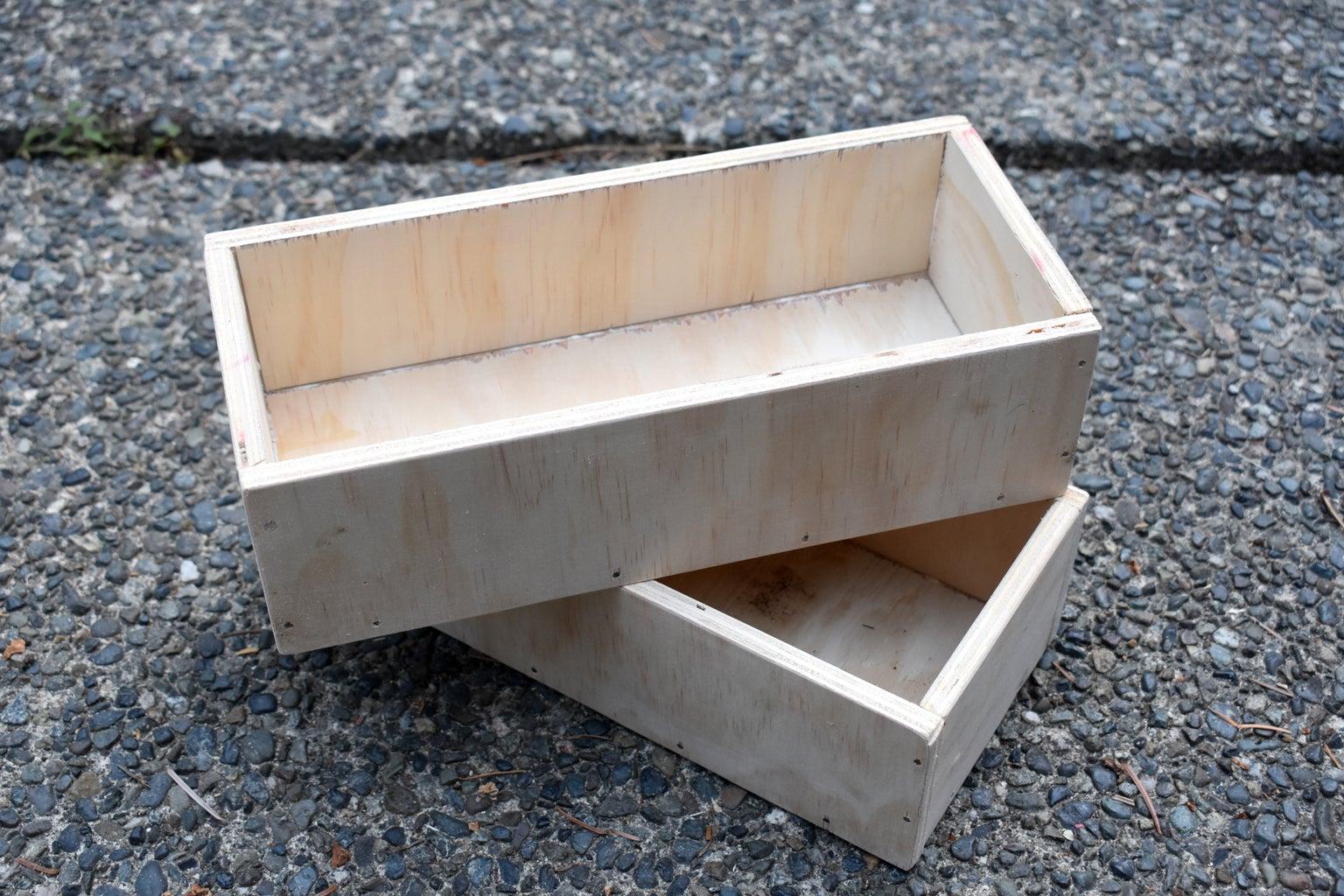 Box Planter Construction