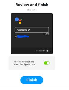 Software - Linking in IFTTT