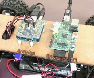 Controlling RC Car Via a Web Interface