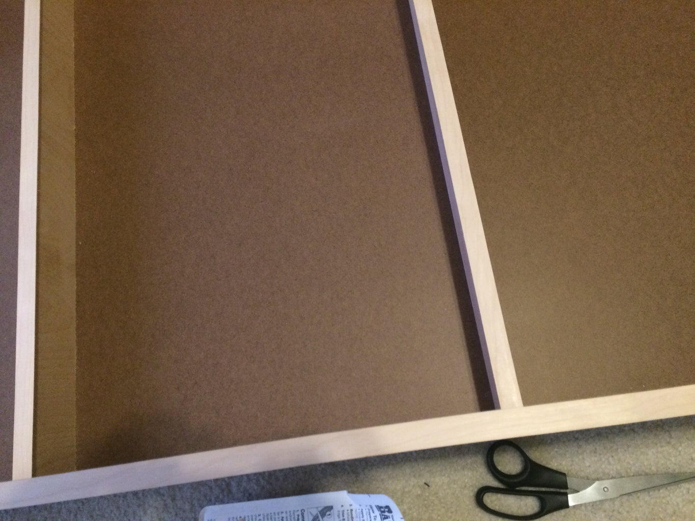 Optional - Stain or Paint the Box