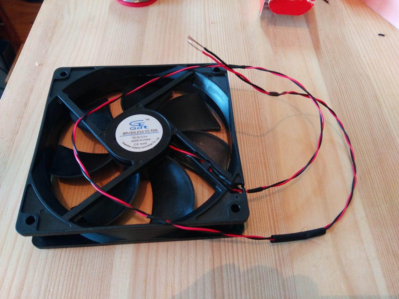 Prepare the 12x12cm Fan
