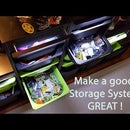 Build Extendable LED Lights to Make a Great Storage System