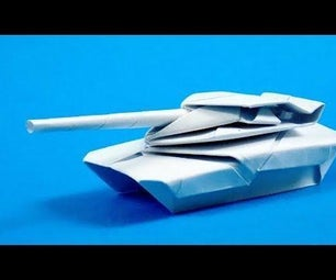 Origami Tank