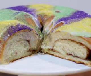 Easy Mardi Gras King Cake