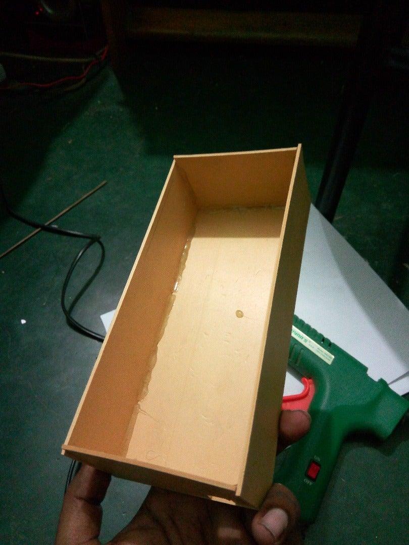 Make the Box (Use Hot Glue)